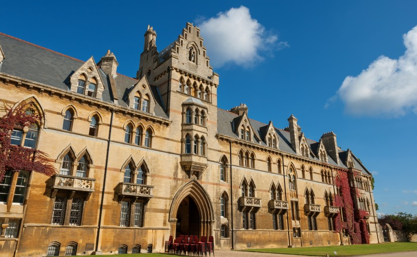 The house of Christ Church College, Oxford University, UK